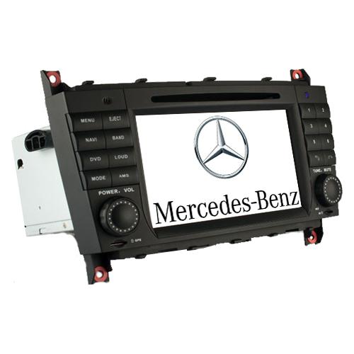 Штатная автомагнитола LONG WAY Mercedes W203