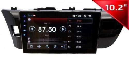 Штатная автомагнитола Toyota Corolla 2014+ Android 2/32