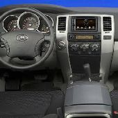 Переходная рамка для Toyota 4RUNNER 2002-2008 2 Din