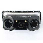Универсальная камера с парктроником KS-00 (2 датчика)