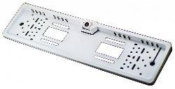 Камера заднего вида LongWay в рамке для номера Белая