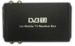 Авто DVB-T2 Тюнер на 4 Антенны (до 230 КМ/Ч)