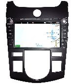 CHTECHI  Штатная автомагнитола KIA Shuma/Cerato/Koup 08-12(Климат контроль)