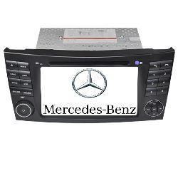 Штатная автомагнитола LONG WAY Mercedes W211