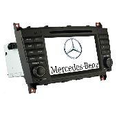 Штатная автомагнитола CHTECHI Mercedes W203