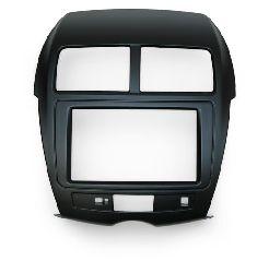 LONG WAY Переходная рамка для Mitsubishi ASX, Citroen C4 Aircross, Peugeot 4008 2 Din с креплениями