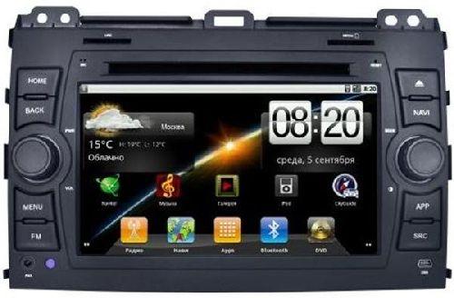 CHTECHI Штатная автомагнитола Lexus GX470 10-12 Android OS