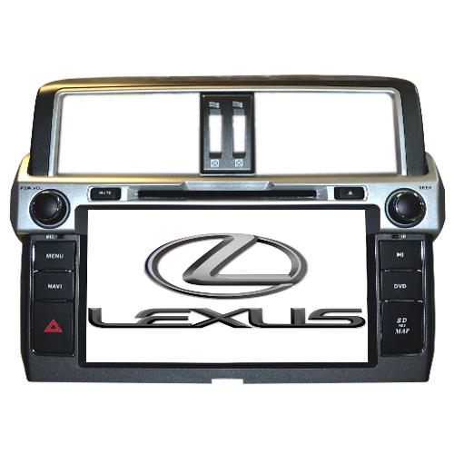 LONG WAY Штатная автомагнитола Lexus GX470 13-14г